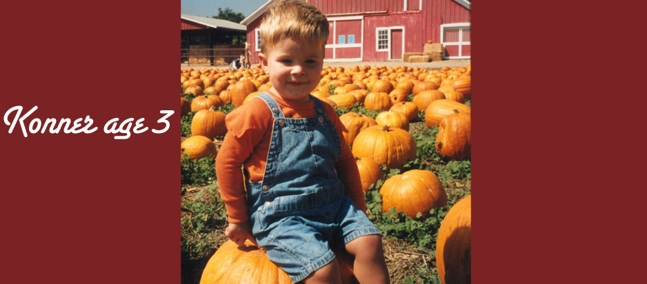 Konner on Pumpkin Menu